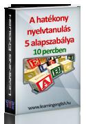 A hatékony nyelvtanulás 5 alapszabálya